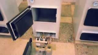 видео Каракан 20 ТПЭВ двухконтурный котел с плитой
