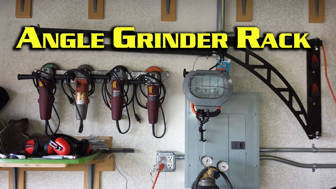 4 1 2 Quot Angle Grinder Rack Youtube