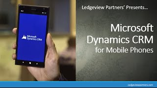 Microsoft Dynamics CRM for Mobile Phones