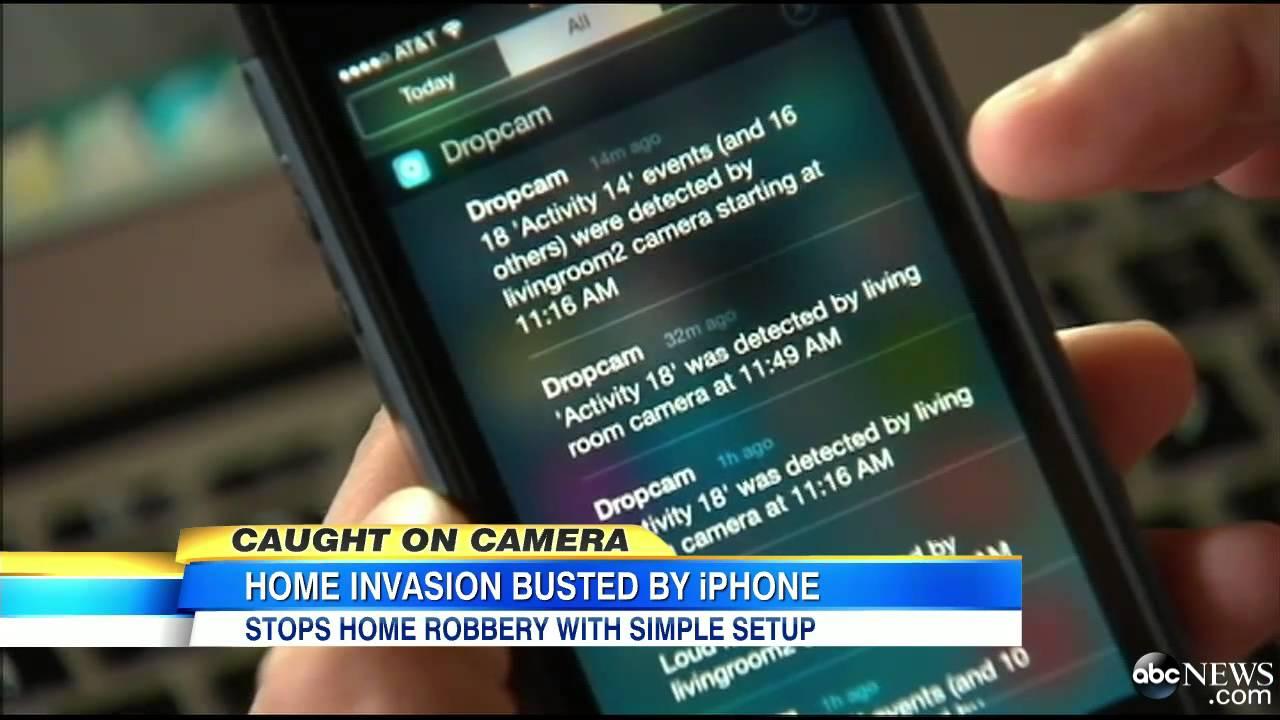 Smartphone App Stops Criminal In His Tracks Domobot