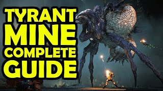 Tyrant Mine Complete Guide | Both Puzzles, Grabbit, Gold & Red Orbs Locations!