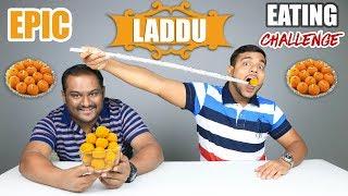 EPIC LADDU \ LADOO EATING CHALLENGE | Motichoor Ladoo Eating Competition | Food Challenge