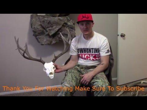 Putting Antlers On Mountain Mikes Kit