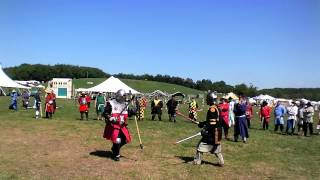 Sven vs. Lord Luis de Castile, of the East in Pennsic 41 Squire