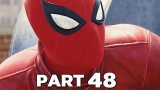 SPIDER-MAN PS4 Walkthrough Gameplay Part 48 - LAST STAND SUIT & TASKMASTER (Marvel's Spider-Man)