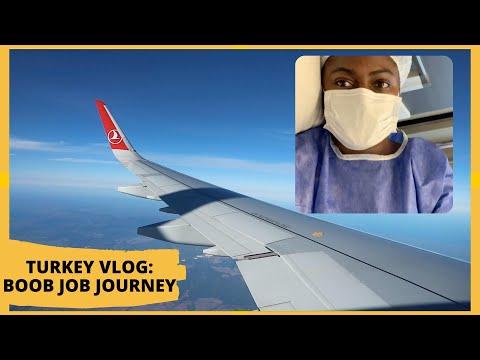 TURKEY TRAVEL VLOG | BOOB JOB PLASTIC SURGERY JOURNEY