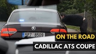 Cadillac ATS Coupe Turbo: 272HP On The Autobahn, Pulled Over by the Police