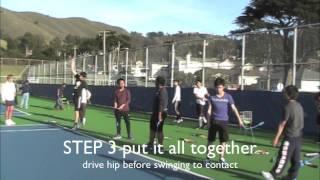 3 Easy Steps Teaching High School Tennis