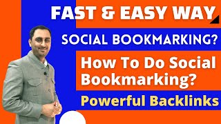 Social Bookmarking - What Is Social Bookmarking In SEO? and How To Do Social Bookmarking in Hindi