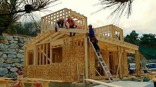 Современные Технологии Быстрого Строительства Деревянно-Каркасных Домов