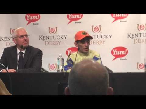 John Velasquez talks about Always Dreaming's Kentucky Derby win