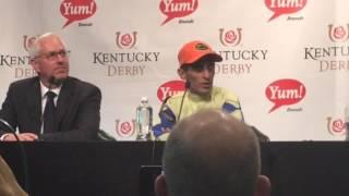 John Velasquez talks about Always Dreaming's Kentucky Derby win