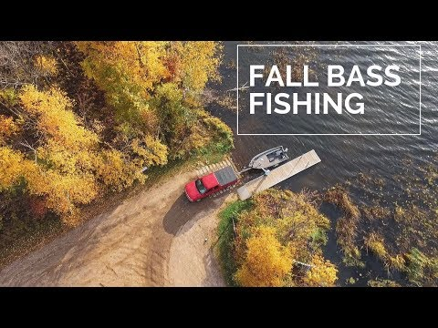 Fall Bass Fishing 2019 - Central Minnesota