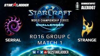 Скачать 2019 WCS Summer Challenger EU Ro16 Group C Match 1 Serral Z Vs Strange P