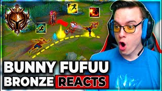 BRONZE PLAYERS ARE ACTUALLY GOOD???? - BunnyFuFuu Reacts 2