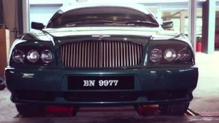 The legendary Brunei cars: the Bentley B2