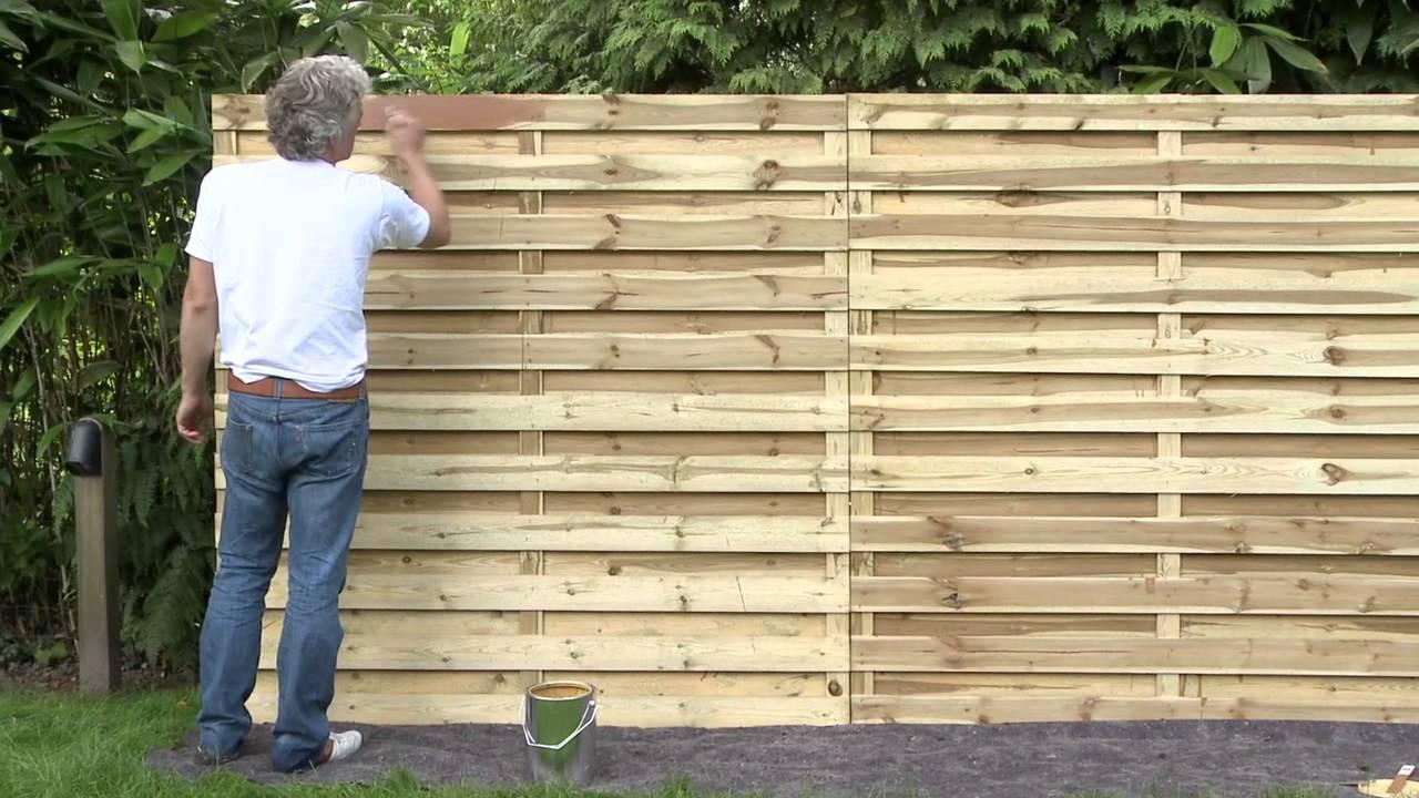 Pare Vue Jardin Bois brise vue en bois autoclave pour cloture de jardin | picstrue