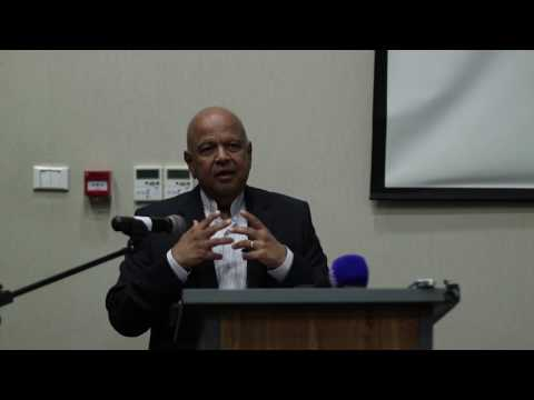UJ CONVOCATION LEADERSHIP SEMINAR 2017: Pravin Gordhan