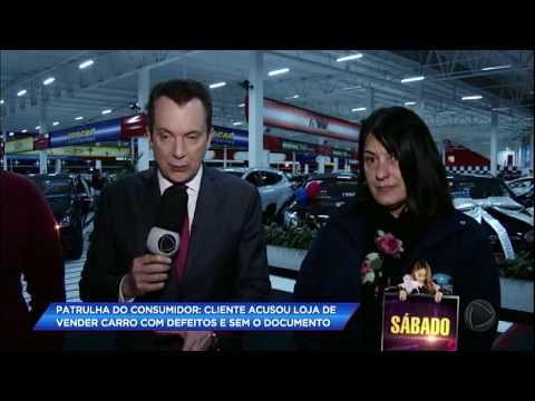 Patrulha do Consumidor ajuda cliente que acusa loja de vender carro com defeitos