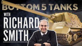 Director Richard Smith | Bottom 5 Tanks | The Tank Museum