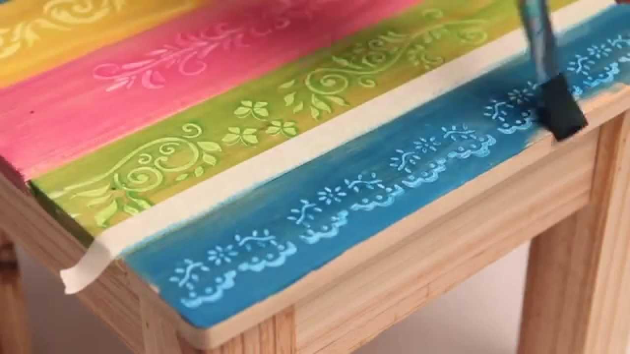 Como utilizar barnices al agua de colores Eq Arte  YouTube
