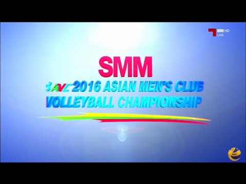 Vietnam vs China | 28 Aug 2016 | Pool F | 2016 Asian Men's Club Volleyball Championship
