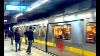New Delhi Metro Train at Connaught Palace thumbnail