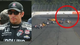 Indycar-Serie trauert: Dieses Wrackteil wurde Justin Wilson zum Verhängnis