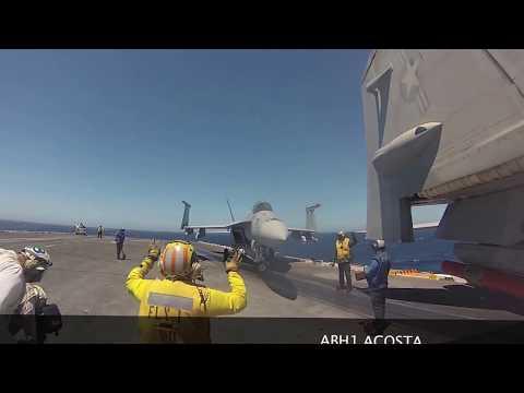 POV Flight Deck Operations USS John C. Stennis
