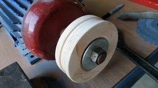 як зробити дерев'яний шків