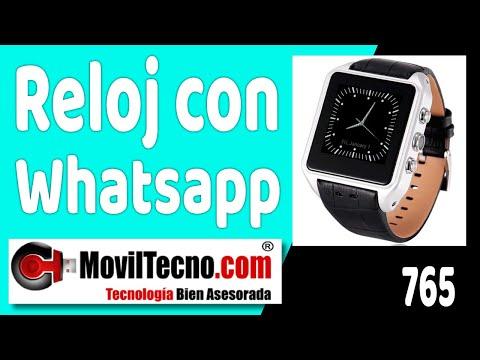 1adbb9b4c Relojes con Android y telefono móvil en MovilTecno.com - YouTube