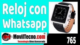 Relojes con Android y telefono móvil en MovilTecno.com