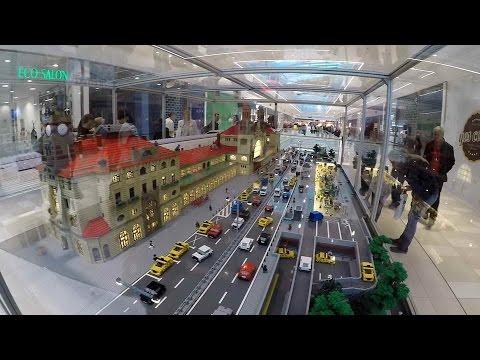147dd3ba6e Model Hlavního nádraží z Lega - Obchodní centrum Central - Kladno ...