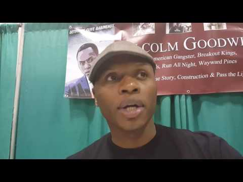 Exclusive  with actor Malcolm Goodwin