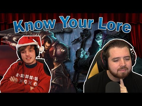 Lore Trivia Show - Know Your Lore (ft. BrickyOrchid8)
