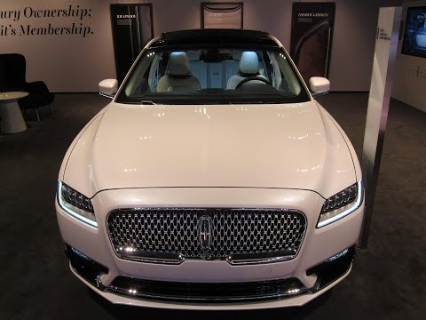 2017 Lincoln Continental Black Label Edition - 2016 LA Auto Show