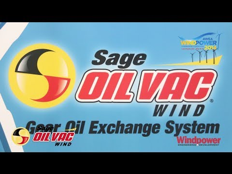 Gear oil exchange system for wind turbines
