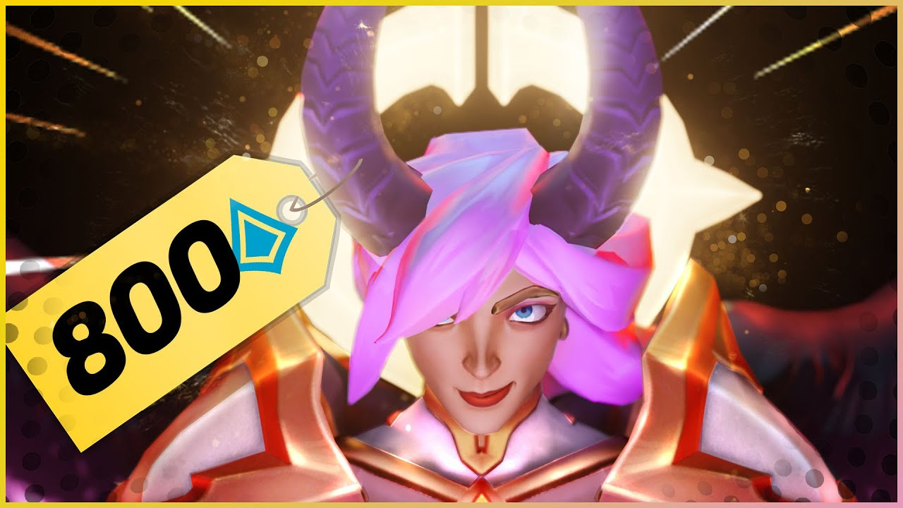 Top 5 BEST and WORST Skins for 800 Crystals   Paladins
