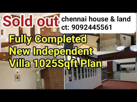 New Independent Luxury Villa   New Home Plan   Chennai   Tamil