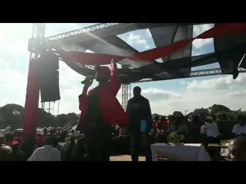 Nelson Chamisa MDC Mbizo Kwekwe Rally 17 March 2018
