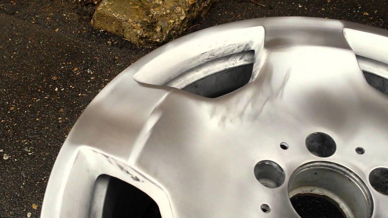Зеркальная полировка автомобильных дисков своими руками