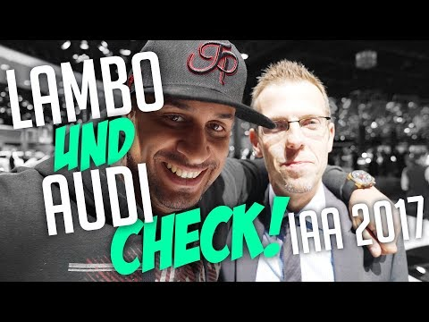 JP Performance - Lambo und Audi Check! | IAA 2017