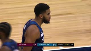 Karl-Anthony Towns Blocks Cedi Osman & Jimmy Butler's And One vs. Cavs [19.10.18.]