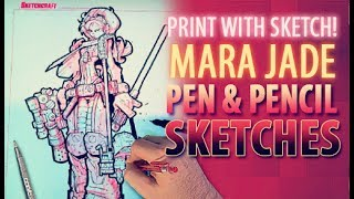 Print with Sketch! - Star Wars Mara Jade