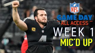 NFL Week 1 Micd Up, \It Didnt Look Pretty, It Didnt Look Good\  Game Day All Access 2021