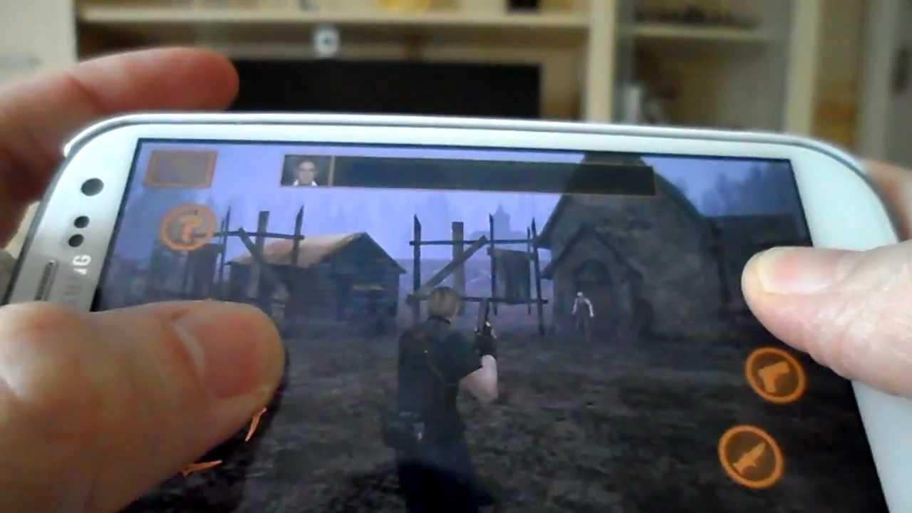 скачать игру на андроид обитель зла 4