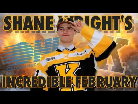 A Recap Of Shane Wright's Insane February (2022 Draft Prospect | Kingston Frontenacs)