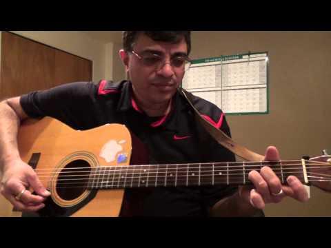 Yaadon Ki Bharaat RD Burman guitar chord lesson by Suresh
