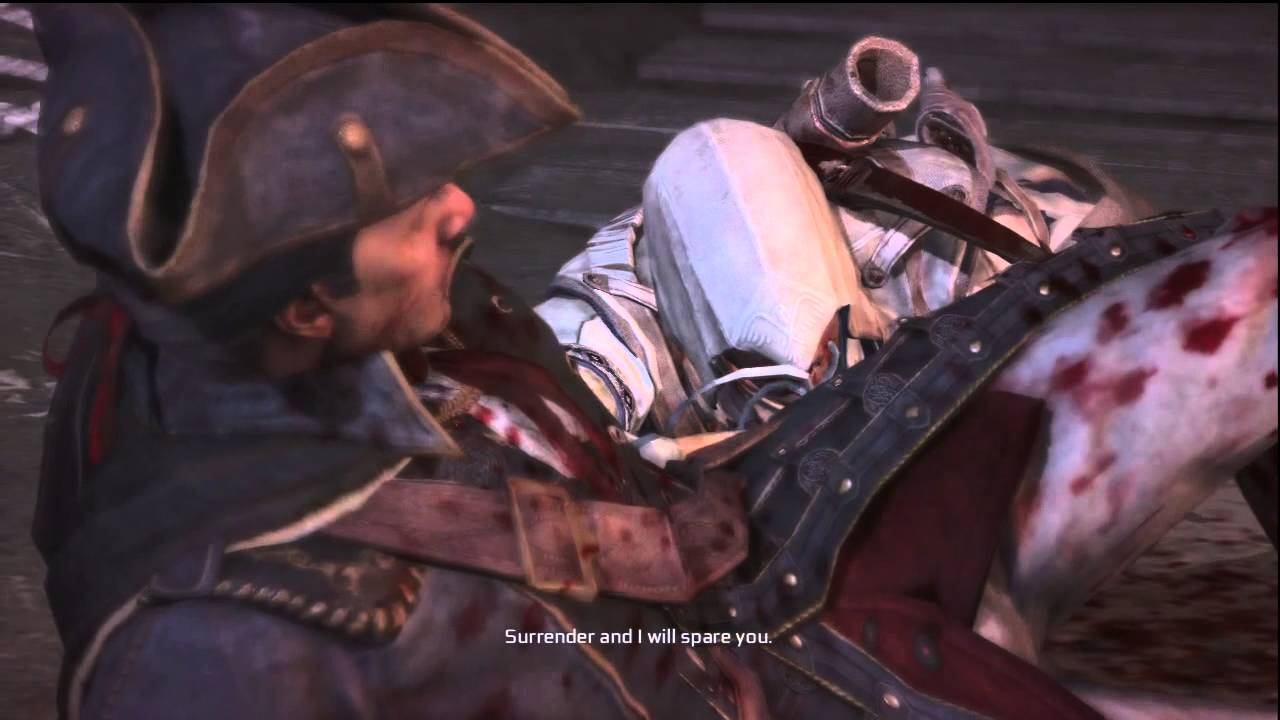 Assassin S Creed 3 Connor Kills Haytham Youtube