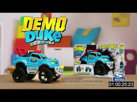 Demo Duke Crashing and Transforming Vehicle - Smyths Toys